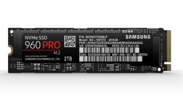 Samsung サムソン SSD 512GB 960 PRO ベーシックキット M.2 Type2280 NVMe1.2 V-NAND搭載 MZ-V6P512