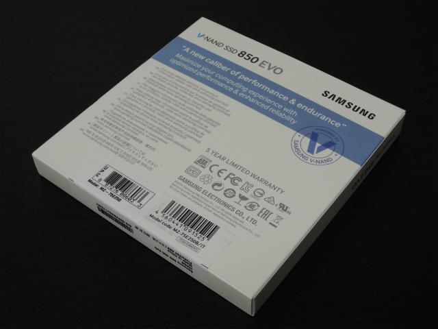 Samsung SSD 250GB 850 EVO ベーシックキット V-NAND搭載 2.5インチ 内蔵型 MZ-75E250B/IT