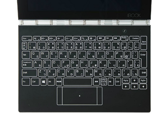 Lenovo 2in1 タブレット YOGA BOOK ZA160039JP /Windows 10/SIMスロット/Office Mobile搭載/4GB/64GB/10.1インチ/ケース付(2017年モデル)