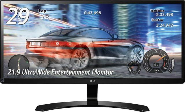 LG モニター ディスプレイ 29UM68-P 29インチ/21:9 ウルトラワイド/IPS 非光沢/HDMI×2、DisplayPort/スピーカー内蔵/ブルーライト低減機能