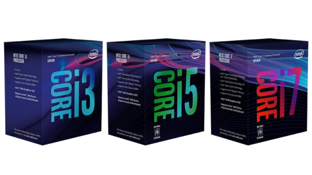 Core i7-8700KとCore i5-8600Kの発売日