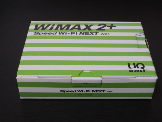 WiMAX 2+モバイルルーター Speed Wi-Fi NEXT W04