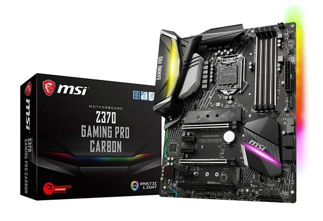 MSI Intel Z370 チップセット搭載 マザーボード [第8世代Core Coffee Lake対応]