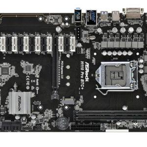 ASRock Intel H110 チップセット搭載 ATX マザーボード H110 PRO BTC+