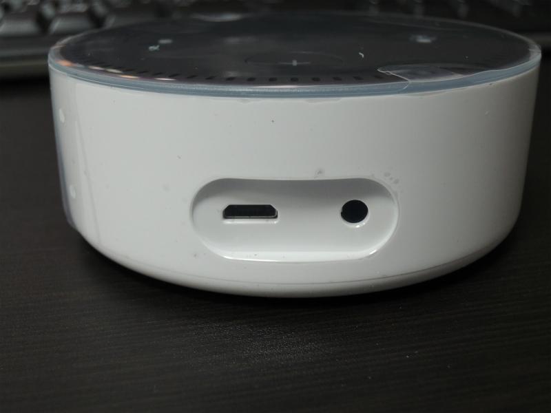 Amazon Echo Dotが届いたので、開封と設定をしてみる。