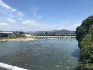 可児市のあっ晴れでつけ麺を食べて、今渡ダムを見てきた。
