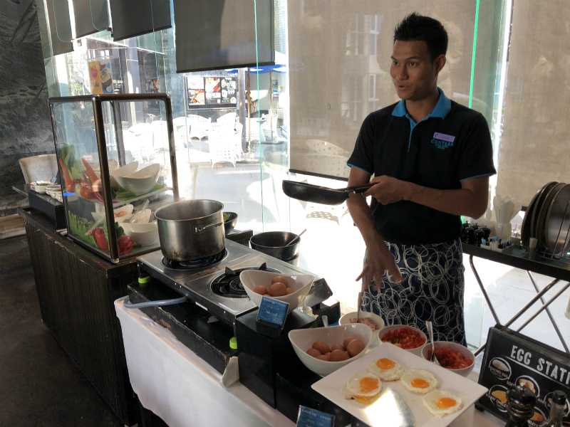 センタラ アズール ホテル パタヤ (Centara Azure Hotel Pattaya)の朝食・ビュッフェ