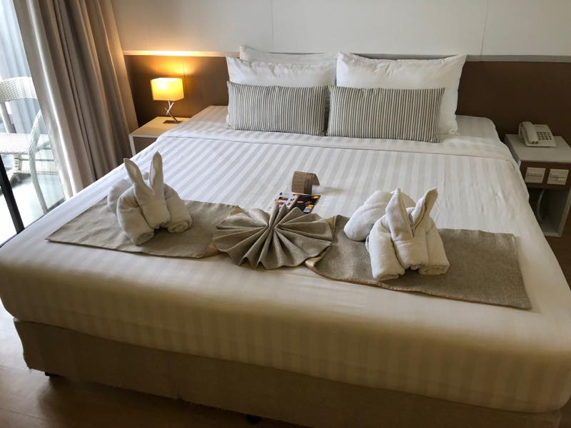 パタヤでの宿泊① アット マインド プレミア スイーツ ホテル (At Mind Premier Suites Hotel) のレポート