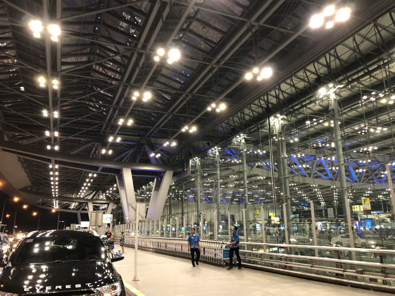 スワンナプーム空港から日本への帰国