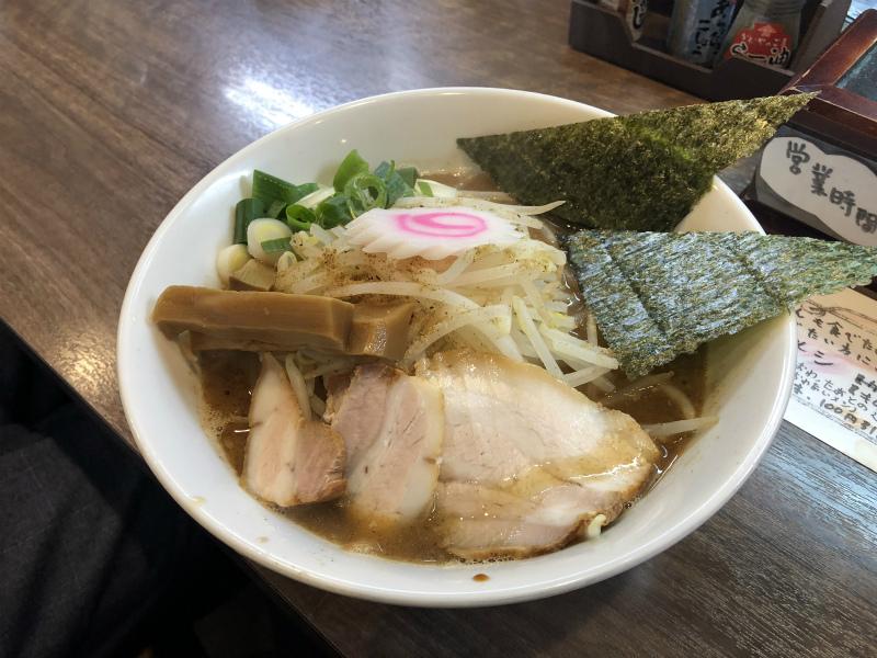 高蔵寺のラーメン 茂一に行って煮干しラーメンを食べてきた