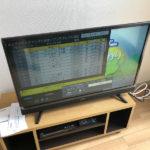 格安32インチTV maxzen J32SK03を開封と設置 不動産屋さんのお仕事