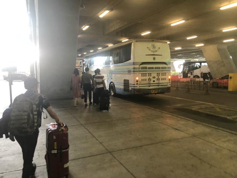 スワンナプーム空港からパタヤ ベルトラベルの予約の仕方と集合場所