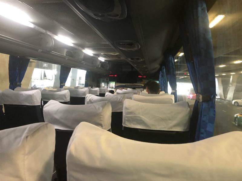 ベルトラベルのバスでパタヤへの移動とパタヤ