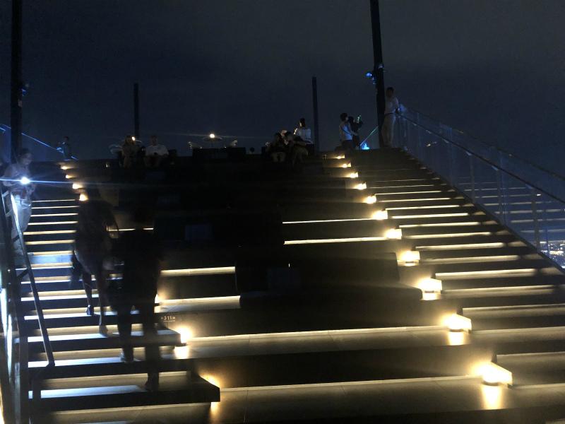 マハナコーンタワーの展望台