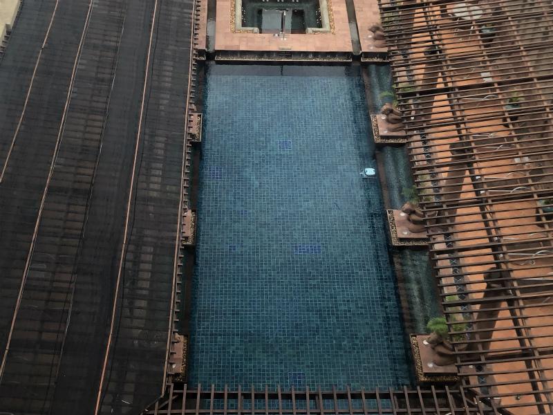 クラウンプラザ バンコク ルンピニ パーク (Crowne Plaza Bangkok Lumpini Park)のプール