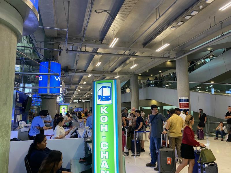バンコク(スワンナプーム空港)からパタヤへバスで移動