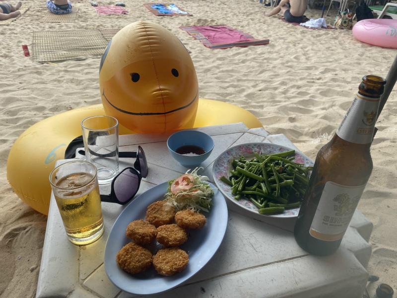 人生2回目のラン島 サマエビーチに行って過ごす