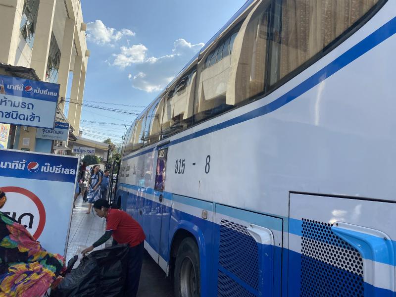パタヤノースバスターミナルからバンコク(エカマイ)へバスで移動