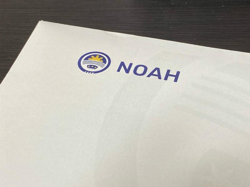 ノアペイメントカードの到着